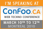 Speaking at ConFoo